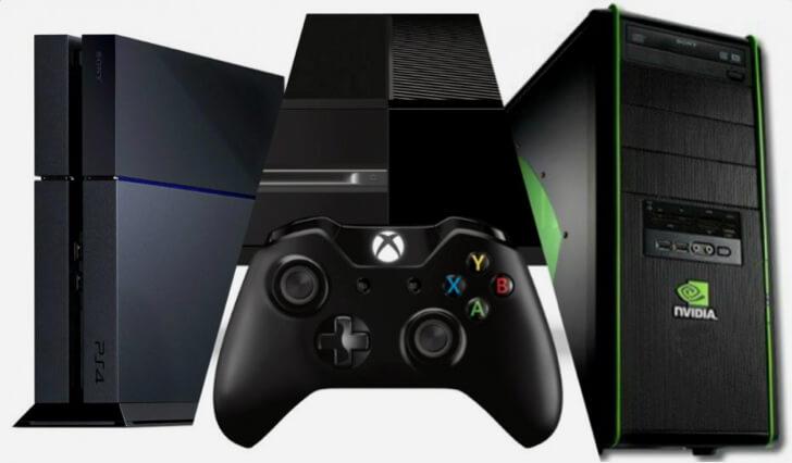 PC ou console: eis a questão entre os gamers