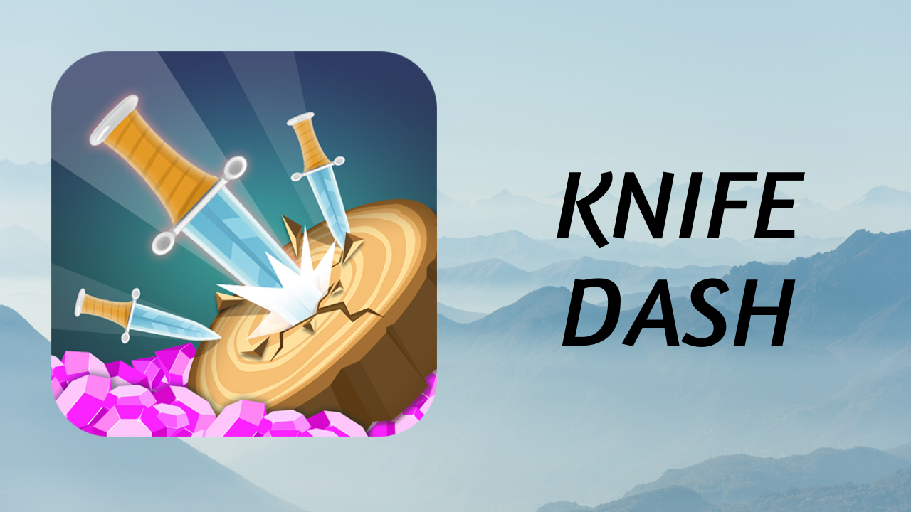 Consiga Diamantes com o Knife Dash