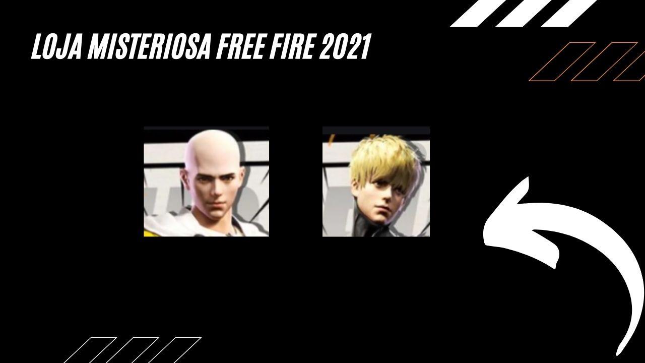 Saiba Todas as Informações do Loja Misteriosa Free Fire de 2021